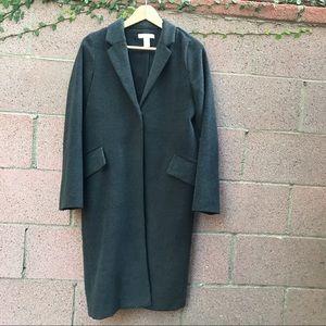 H&M Long Grey Jacket Coat